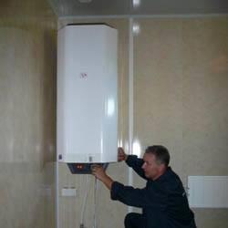 Установка водонагревателя в Ангарске. Монтаж и замена бойлера г.Ангарск.